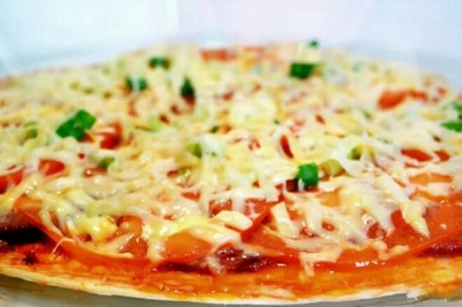 Пицца из тортильи за 10 минут