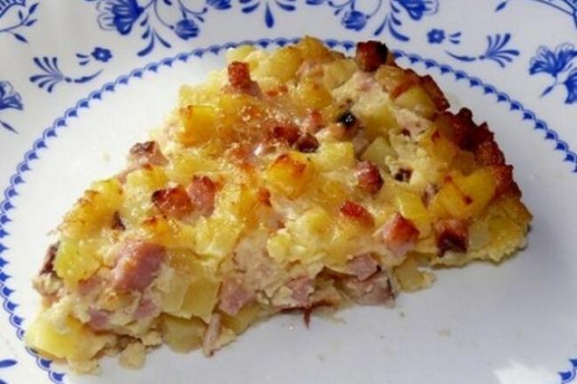 Крестьянский завтрак в сметане