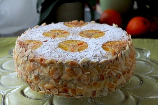Нежнейший апельсиново-маковый торт